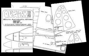 Micro Quark - With Plans! - GliderIreland